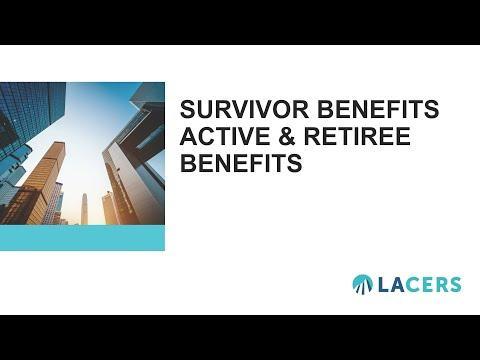 Survivor Benefit Options