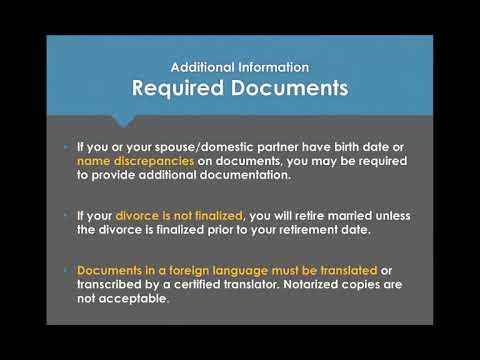 Submit Your Required Documents